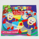 Review: Toptots Actions Songs CD