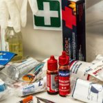 Home first aid kit check list