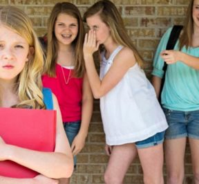 BULLYING AT SCHOOL CAN HAVE A LIFE-LONG IMPACT…
