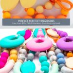 Silicone necklaces for moms and babies