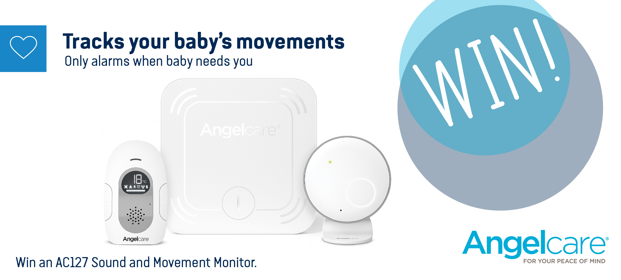 Win With Angelcare Parenting Hub