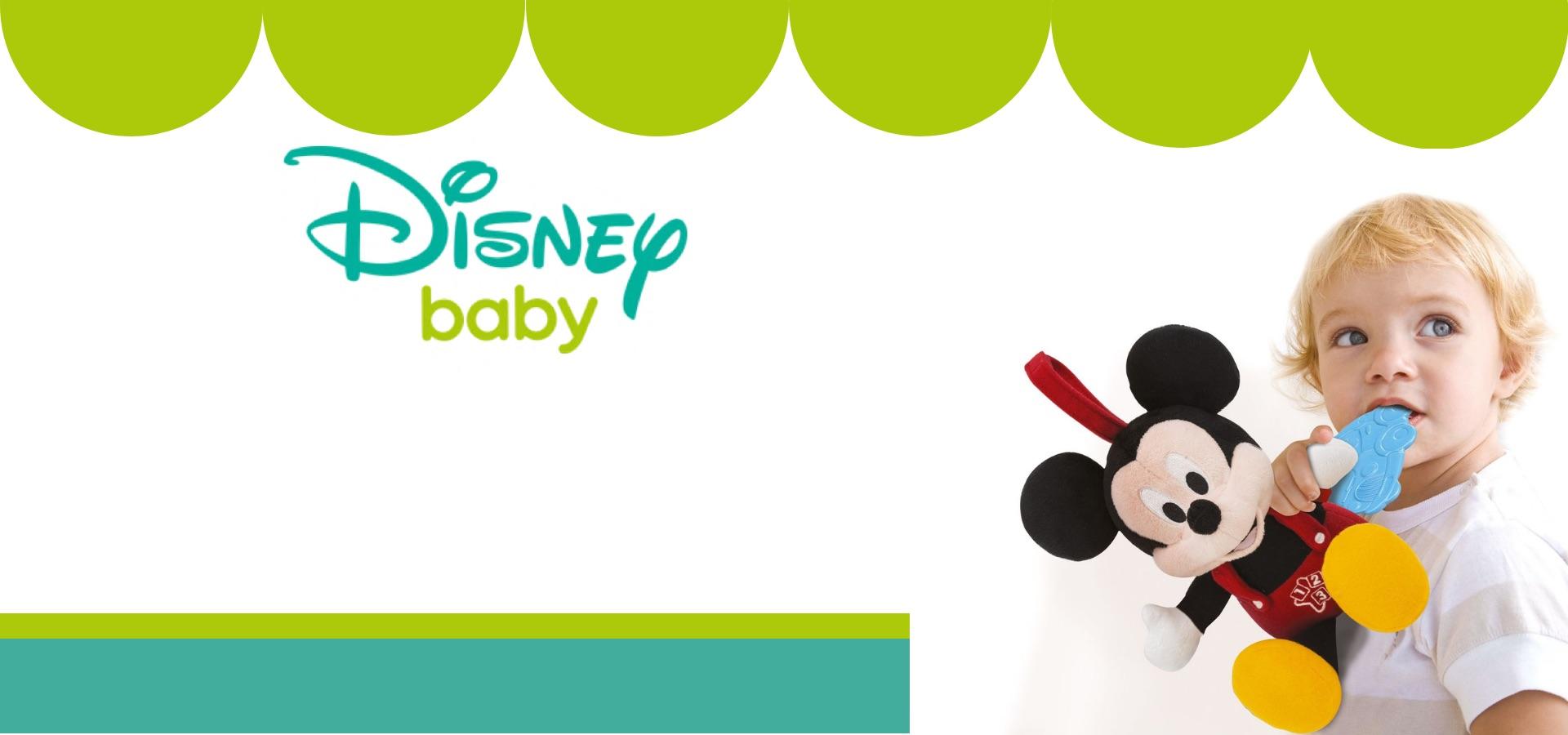 DISNEY BABY MICKEY & MINNIE LEARN & CUDDLE PLUSH DOLL