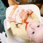 Introducing solids: First foods and textures by Happy Family Organics