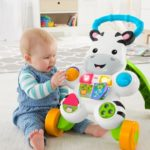 The Fisher-Price® Puppy & Zebra Walkers